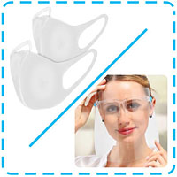 Pack Visière de protection faciale + Air Fit Mask